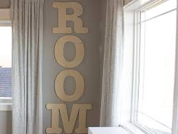 large wood letters in a playroom craftcuts com