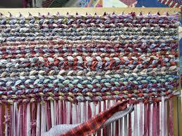 Fabric Rug Diy 177 Best Rag Rug And Looms Images On Pinterest Rag Rugs Loom
