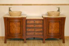double vessel sink vanity. 72 Inch Large Double Vessel Sink Vanity With Drawers