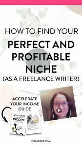 best ideas about writing jobs creative writing how to your perfect and profitable niche as a writer video