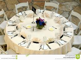 outdoor wedding reception table settings
