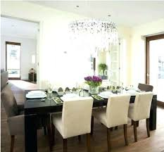 chandelier size for table dining chandelier size for kitchen table