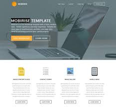 One Page Website Template Impressive Download Free Bootstrap Templates Examples FreeWebMentor