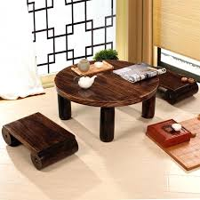 small coffee table antique small round table wood traditional furniture living room low floor coffee table wooden in coffee tables from furniture