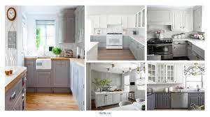39 Grey Kitchen Cabinet Makeover Ideas Homikucom