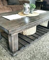 rustic farmhouse square coffee table set medium size of round industrial chunky tab
