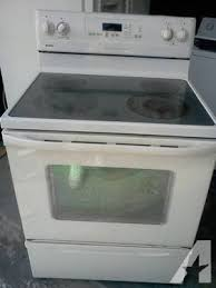 kenmore stove top. Exellent Stove Kenmore Stove Glass Top In N