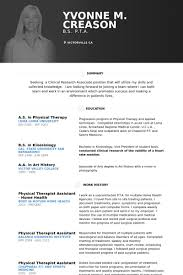Physical Therapist Assistant Home Health Resume samples