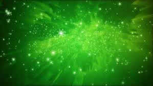 Falling Snow Green Christmas Holidays Stock Footage Video 100