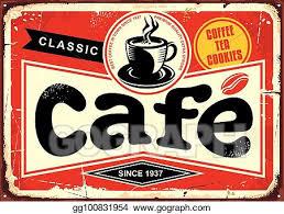 coffee bar clipart. Wonderful Clipart Cafe Bar Retro Tin Sign With Coffee Bar Clipart W