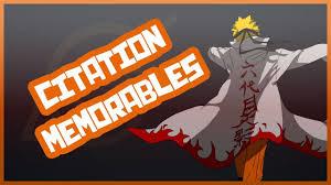20 Citations Memorables Dans Naruto