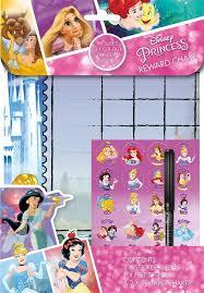 Disney Princess Age Chart Disney Princesses And Friends Reward Chart Super Universe