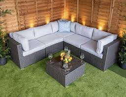 rattan garden corner sofa set best