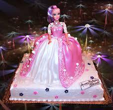 Barbie Birthday Cake With Name 5 Happy Birthday World