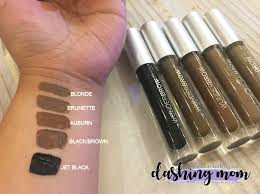 Wunderbrow Shades Chart Wunderbrow Color Swatches Bahangit Co