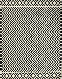 awesome rug awesome black and white chevron dhurrie rugs for floor cover ideas awesome black white