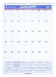 At A Glance Monthly Calendar 2015 Rome Fontanacountryinn Com