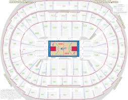 Staples Center Seat Numbers Detailed Seating Chart La