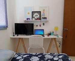 home office diy. Home Office #DIY #quarto #cavalete #quadro #tv Diy E