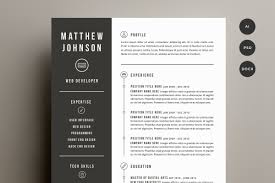Clean Resume Cv Template Ai Download Resume Cv Design Templates