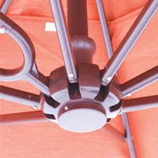 cantilever patio galtech 10 ft aluminum square cantilever patio umbrella with easy