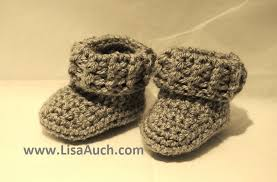 Crochet Booties Pattern Impressive Free Crochet Patterns And Designs By LisaAuch Booties For Baby