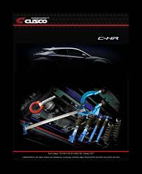 TOYOTA C-HR Performance Parts Line-Up News English page CUSCO