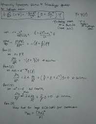 spherically symmetric solution to schrodinger equa show transcribed image text spherically symmetric solution to schrodinger equation for hydrogen atom