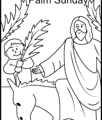 Coloring Pages Palm Sunday Palm Coloring Pages Printable Palm