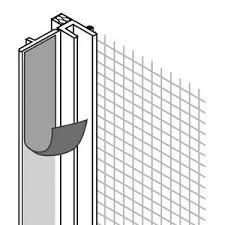 <b>Профиль ПВХ</b> Baukom <b>оконный примыкающий</b> 6х2400 мм, цена ...