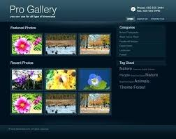 Free Responsive Gallery Template Free Responsive Themes
