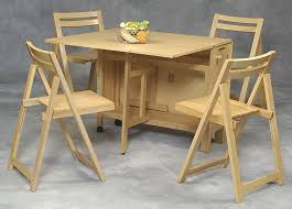 Collapsible Kitchen Table Space Saver Space Saving Dining Tables Comfortable Chairs For
