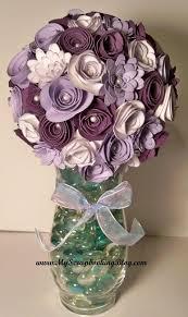 Paper Flower Bouquet In Vase Flower Bouquet Using The Cricut Paper Flowers Diy Paper