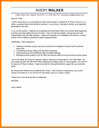 4 Cover Letter Example For Administrative Assistant Prome So Banko