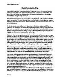 descriptive essay about a trip discovering hope a descriptive essay about tanzania trip
