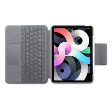 Logitech Folio Touch Keyboard Case with Trackpad for iPad Air (4th  generation) - Apple