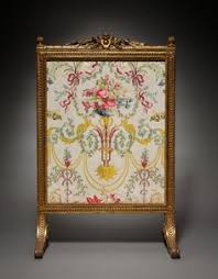 1780 french fire screen at the cleveland museum of art screens like this one were used to help regulate temperature in room when vintage fireplace n79 fireplace
