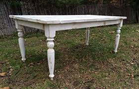custom made reclaimed wood french country farmhouse table with beautiful turned legs french country table56