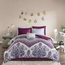 intelligent design layne 9 piece purple