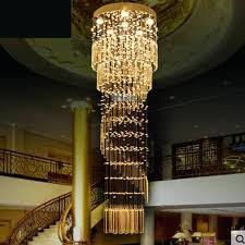 staircase chandelier contemporary