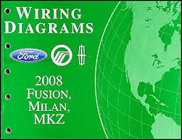 2008 fusion milan mkz wiring diagram manual original