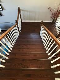 durowood flooring recapped oak staircase