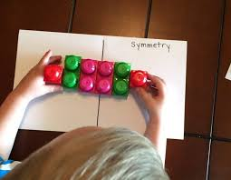 How to Teach Symmetry Without Worksheets | Hands On As We Grow