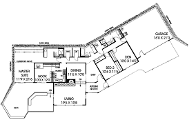 ambrose berm home plan 085d 0126 house plans and more Earth House Design Plans modern house plan first floor 085d 0126 house plans and more earth home design plans or pictures