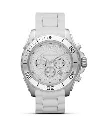 michael kors men s round silver and white sport watch 47mm michael kors men s round silver and white sport watch 47mm bloomingdale s