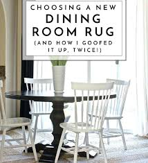 dining room rug choosing a new dining room rug and how i goofed it up twice