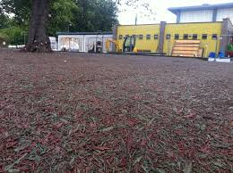 resin bound rubber mulch surfaces