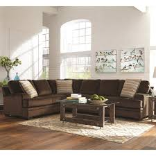 Serta Living Room Furniture Plush Corner Sectional By Serta