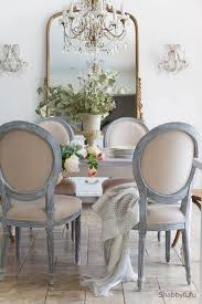 French country dining room furniture Cream French Style Furniture Dining Room Decor Shabbyfufu French Style Furniture And Chandelier Updates Shabbyfufucom