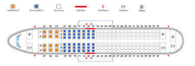 United Airlines Airbus 320 Seating Chart 65 True To Life United A320 Seating Chart